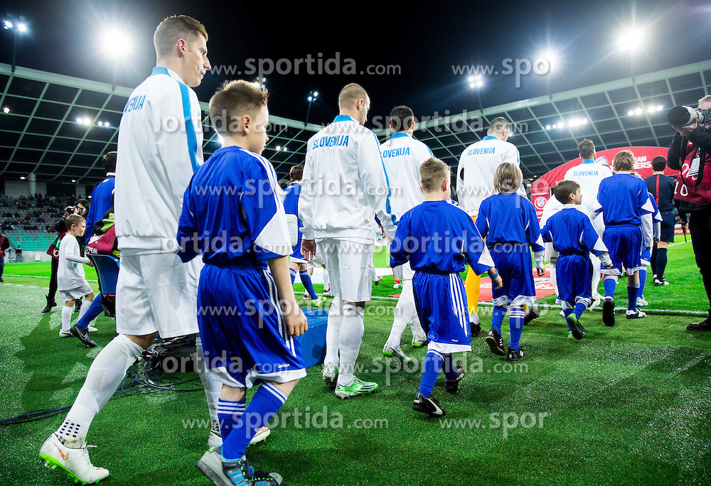 Valter Birsa of Slovenia prior to the football match between NationalTeams of Slovenia and San Marino in Round 5 of EURO 2016 Qualifications, on March 27, 2015 in SRC Stozice, Ljubljana, Slovenia. Photo by Vid Ponikvar / Sportida
