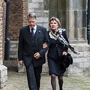NLD/Delft/20131102 - Herdenkingsdienst voor de overleden prins Friso, Piet Hein Donner en partner