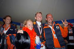 Christa Van Duin, Werner Nicole, Gal Edward, Minderhoud Hans Peter<br /> European Championship Dressage Windsor 2009<br /> © Hippo Foto - Dirk Caremans