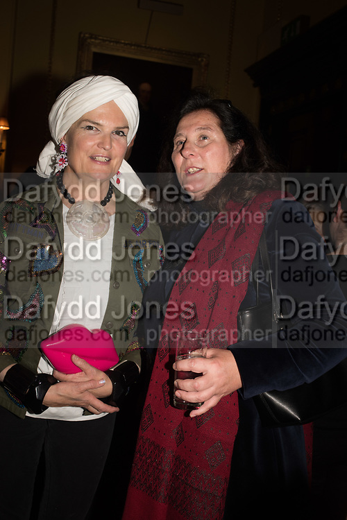 LADY EMMA KITCHENER FELLOWES, Her Royal Highness Katarina The Princess of Yugoslavia and SerbiaLaunch hosted by Quartet books  of Madam, Where Are Your Mangoes? by Sir Desmond de Silva at The Carlton Club. London. 27 September 2017.