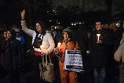 Vigil to mark 14 years of Guantánamo BayMonday 11 January Outside US Embassy | 24 Grosvenor Square , London.