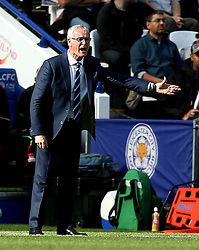An animated Leicester City manager Claudio Ranieri - Mandatory by-line: Robbie Stephenson/JMP - 02/10/2016 - FOOTBALL - King Power Stadium - Leicester, England - Leicester City v Southampton - Premier League