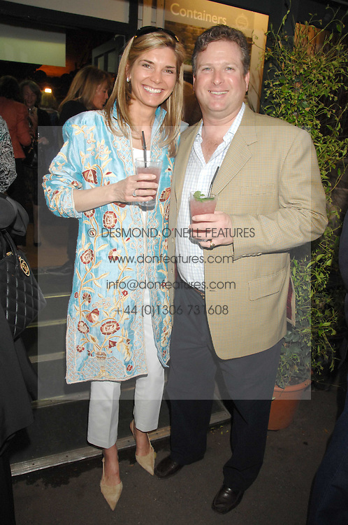 WILLIAM & LUCY ASPREY at a party for the Royal Marsden Hospital held at the Chelsea Gardener, Sydney Street, London on 6th May 2008.<br />