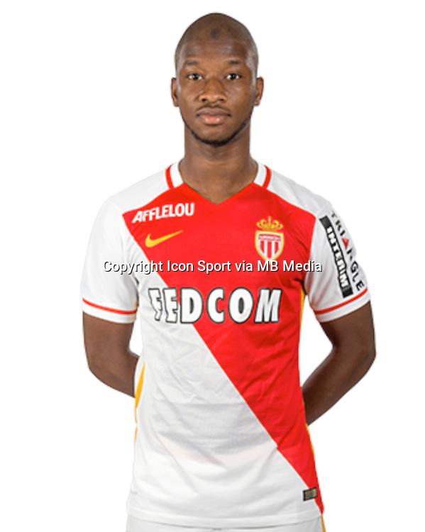 Almamy TOURE - 15.09.2015 - Photo officielle Monaco - Ligue 1<br /> Photo : As Monaco / Icon Sport