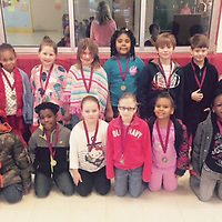 HOUSTON SECOND GRADE STUDENTS OF MONTH<br /> (Courtesy Photo)<br /> Students of the Month named recently at Houston Lower Elementary are, front row from left, Destiney Barr, EJ Montoya, Sykwonze Davidson, Nela Jones, Henlee Wooten, Jazlynn Vance, Devon Bynum, and Alajah Robertson. Back row from left are, Walker Burdine, Kymora Ewing, Laura Ann Horn, Madison Sanders, Trinity Willis, Brand Garner, Curry Chapman and Chrissy Bradley.