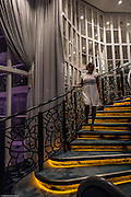 Royal Caribbean, Harmony of the Seas, the stairs of the wonderland restaurant