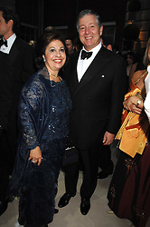 TRH CROWN PRINCE ALEXANDER and CROWN PRINCESS KATHERINE OF YUGOSLAVIA, at the Ark 2007 charity gala at Marlborough House, Pall Mall, London SW1 on 11th May 2007.<br />