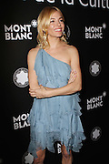 Nov. 10, 2015 - New York City, NY, USA - <br /> <br /> Sienna Miller attends the 24th anniversary Year of Montblanc De La Culture Arts Patronage Awards at Kappo Masa<br /> ©Exclusivepix Media