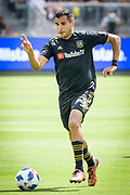 Los Angeles FC defender Steven Beitashour (3) in action during a MLS soccer match in Los Angeles, Saturday, May 5, 2018. (Eddie Ruvalcaba/Image of Sport)