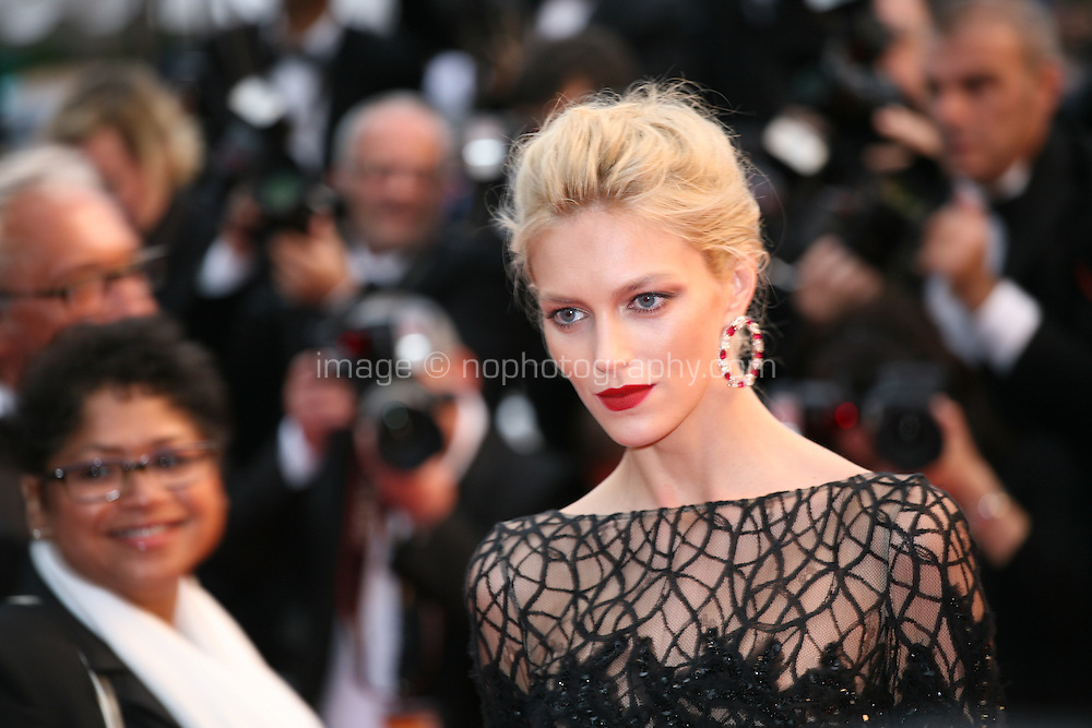 Anja Rubik at the Cosmopolis gala screening at the 65th Cannes Film Festival France. Cosmopolis is directed by David Cronenberg and based on the book by writer Don Dellilo.  Friday 25th May 2012 in Cannes Film Festival, France.