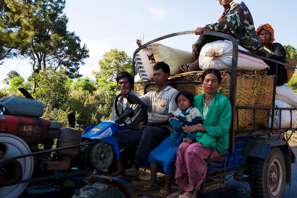 Kalaw, Myanmar.