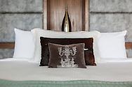 Double bedroom at Lime Villa 4, a luxury private, ocean view villa, Koh Samui, Surat Thani, Thailand