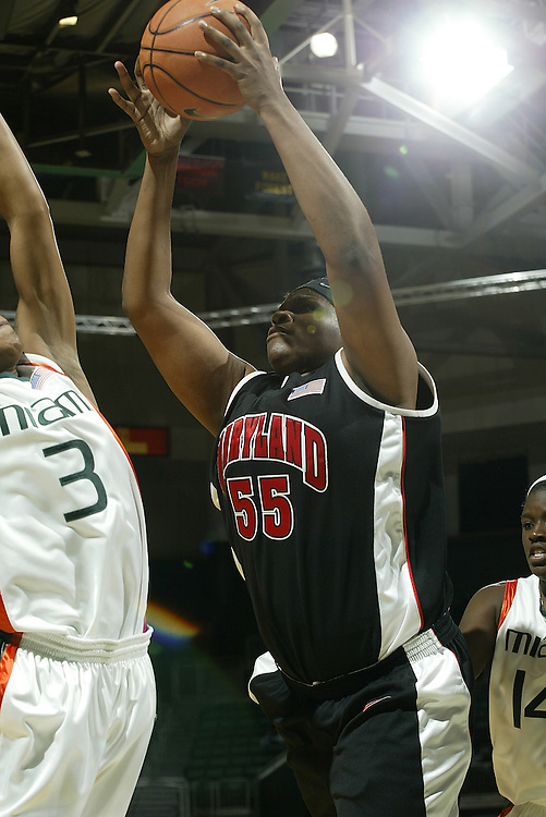 University of Maryland forward Jade Perry in action during the Terrapins 111-53 victory over the Miami Hurricanes on January 10, 2007 at the BankUnited Center in Coral Gables, Florida.