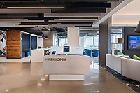 Interior design image of Parsons 9th Floor offices in Arlington VA by Jeffrey Sauers of CPI Productions