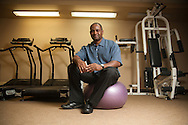 Community Service.Derris Hunt..Derris Hunt is a personal trainer who volunteers with the Nevada Center for the Blind.  When he noticed that there weren't many options available for the blind community to pursue fitness, he wanted to change that.  Derris collected donations for the cause and purchased the needed equipment to build a fitness center for the blind.  Each week he teaches them to use the equipment and has been able to help blind individuals gain confidence and new skills that have changed their lives.