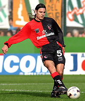Fotball<br /> Argentina<br /> 02.08.2003<br /> Banfield v Newells<br /> Ariel Rosada<br /> Foto: Digitalsport