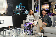 Actress Nikki Reed and interior designer and author Nate Berkus use Unstopables, a suite of long-lasting air, home & fabric care scents, to create their own luxurious and unique Scent Decor during an event at Maison 24 in New York, Thursday, Feb. 19, 2015. (Photo by Diane Bondareff/Invision for Unstopables/AP Images)
