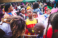 The largest street festival in Europe, Notting Hill carnival was launched in 1964 by the African-Caribbean community. Over the bank holiday weekend the streets come alive to steel bands, colourful floats and costumed performers as members of the public flood in to the area to join in the celebrations. London, Aug. 24, 2014 (Photos/Ivan Gonzalez)