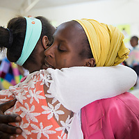 Hamlin fistula patients show love to each other