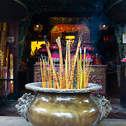 Incense sticks at Kun Iam Temple
