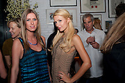 NICKY HILTON,; PARIS HILTON;  Dom PŽrignon with Alex Dellal, Stavros Niarchos, and Vito Schnabel celebrate Dom PŽrignon Luminous. W Hotel Miami Beach. Opening of Miami Art Basel 2011, Miami Beach. 1 December 2011. .<br /> NICKY HILTON,; PARIS HILTON;  Dom Pérignon with Alex Dellal, Stavros Niarchos, and Vito Schnabel celebrate Dom Pérignon Luminous. W Hotel Miami Beach. Opening of Miami Art Basel 2011, Miami Beach. 1 December 2011. .