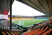 A general view of the Carrow Rd Stadium before the The FA Cup 3rd round match between Norwich City and Portsmouth at Carrow Road, Norwich, England on 5 January 2019.
