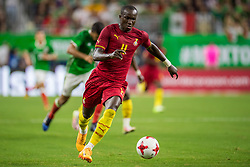 June 28, 2017: Ghana forward Raphael Dwamena (11) controls the ball during the 1st half of an international soccer friendly match between Mexico and Ghana at NRG Stadium in Houston, TX. ..Trask Smith/CSM(Credit Image: © Trask Smith/CSM via ZUMA Wire)