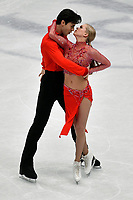 Kaitlyn Weaver, Andrew Poje CANADA  <br /> Ice Dance Short Dance <br /> Milano 23/03/2018 Assago Forum <br /> Milano 2018 - ISU World Figure Skating Championships <br /> Foto Andrea Staccioli / Insidefoto
