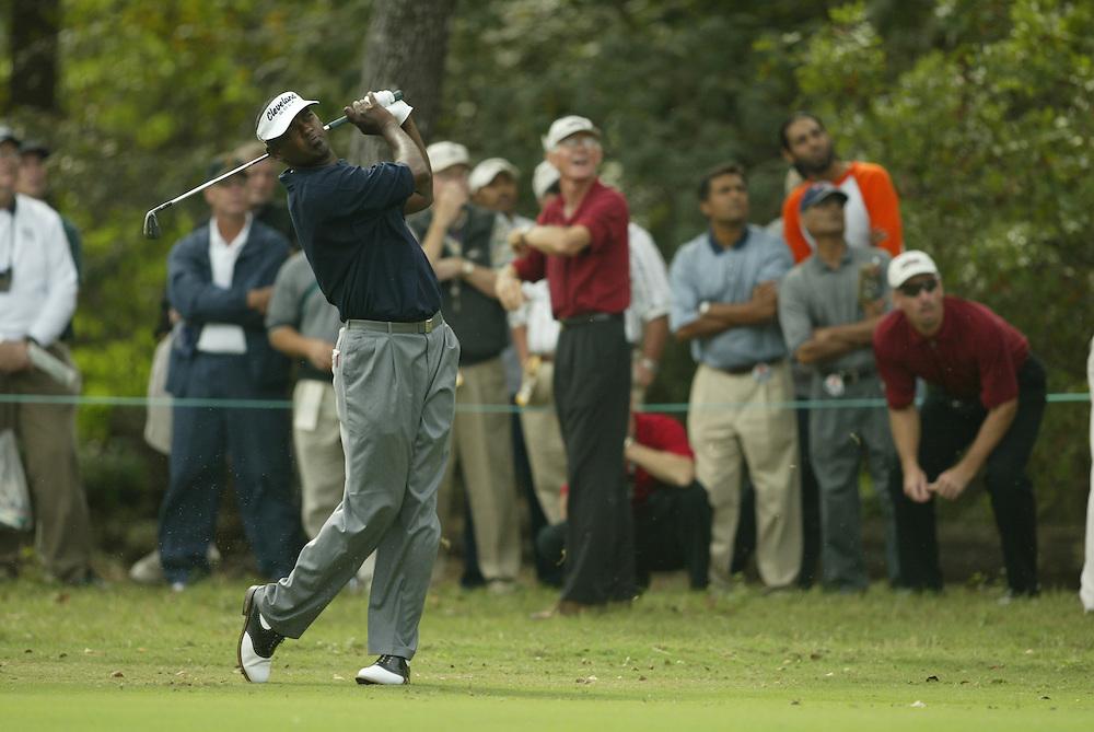 Vijay Singh.2003 Tour Championship.First Round.Champions Golf Club.Houston, TX.November 6, 2003..photograph by Darren Carroll