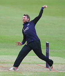 Tom Smith of Gloucestershire  - Photo mandatory by-line: Dougie Allward/JMP - Mobile: 07966 386802 - 14/07/2015 - SPORT - Cricket - Cheltenham - Cheltenham College - Natwest T20 Blast