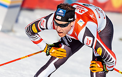 29.01.2017, Casino Arena, Seefeld, AUT, FIS Weltcup Nordische Kombination, Seefeld Triple, Langlauf, im Bild Bernhard Gruber (AUT) // Bernhard Gruber of Austria reacts after Cross Country Gundersen Race of the FIS Nordic Combined World Cup Seefeld Triple at the Casino Arena in Seefeld, Austria on 2017/01/29. EXPA Pictures © 2017, PhotoCredit: EXPA/ JFK