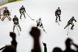 Ice Hockey match between HK SZ Olimpija and HC Pustertal Wolfe in 6th Final game of Alps Hockey League 2018/19, on April 19th, 2019, in Hala Tivoli, Ljubljana, Slovenia. Photo by Grega Valancic