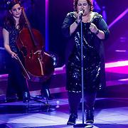 NLD/Amsterdam/20121130 - 4e liveshow The Voice of Holland 2012, Barbara Straathof