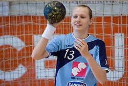 Nusa Skutnik at practice of Slovenian Handball Women National Team, on June 3, 2009, in Arena Kodeljevo, Ljubljana, Slovenia. (Photo by Vid Ponikvar / Sportida)