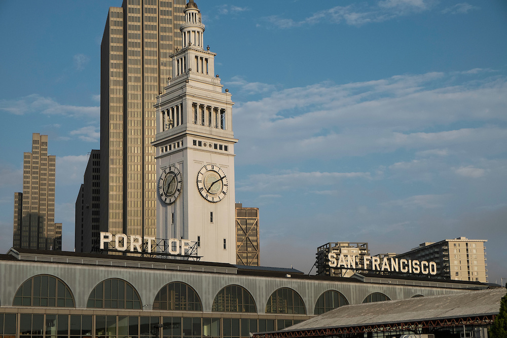 The San Francisco Ferry building at sunrise | July 2, 2013