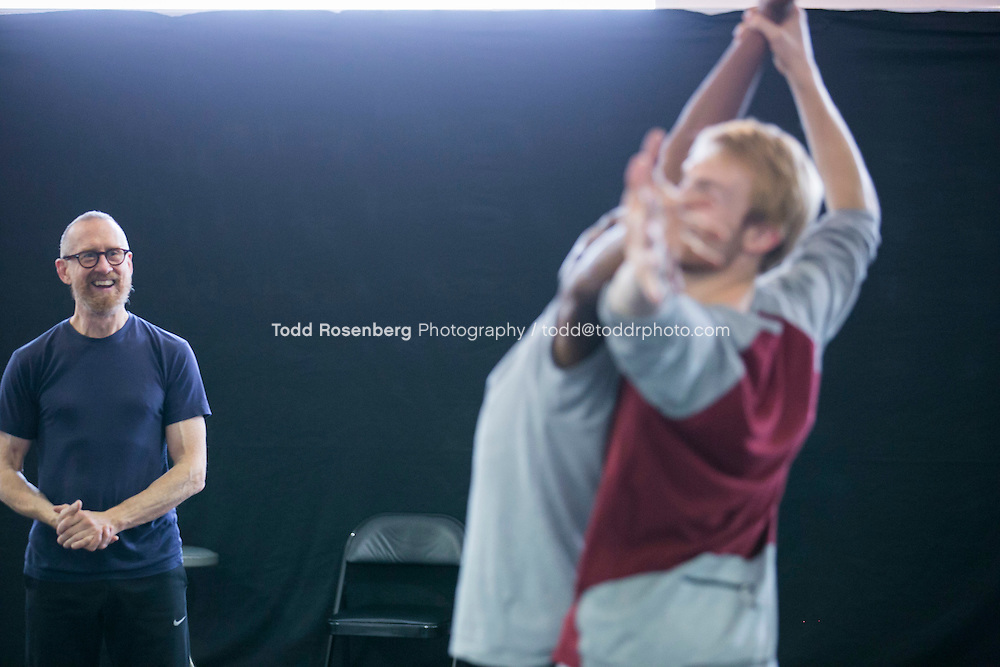 10/2/15 3:51:02 PM -- Hubbard Street Dance Chicago <br /> <br /> Choreographer William Forsythe in studio with the main company. <br /> <br /> . &copy; Todd Rosenberg Photography 2015