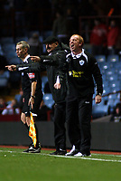 Photo: Mark Stephenson.<br /> Aston Villa v Leicester City. Carling Cup. 26/09/2007.Leicester's Gary Megson shouts his orders