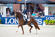 Mara de Vries - Habibi DVB<br /> FEI World Championships Young Dressage Horses 2019<br /> © DigiShots