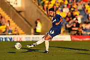 Hugo Diaz (44) of Leeds United during the Pre-Season Friendly match between Oxford United and Leeds United at the Kassam Stadium, Oxford, England on 24 July 2018. Picture by Graham Hunt.