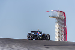 February 12, 2019 - Austin, Texas, U.S. - COLTON HERTA (88) of The United States goes through the turns during practice for the IndyCar Spring Test at Circuit Of The Americas in Austin, Texas. (Credit Image: © Walter G Arce Sr Asp Inc/ASP)