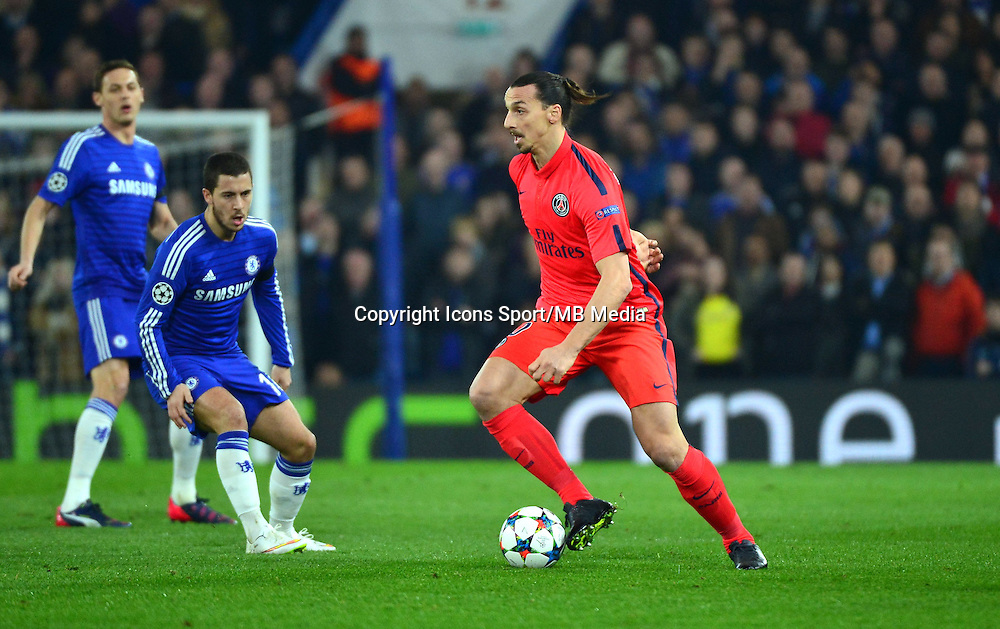 Zlatan IBRAHIMOVIC - 11.03.2015 - Chelsea / Paris Saint Germain - 1/8Finale retour Champions League<br /> Photo : Dave Winter / Icon Sport