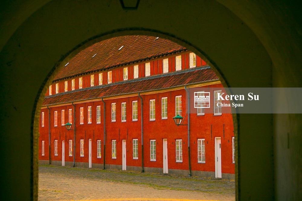 Kastellet, The Citadel, an exceptionall well preserved fortress, Copenhagen, Denmark