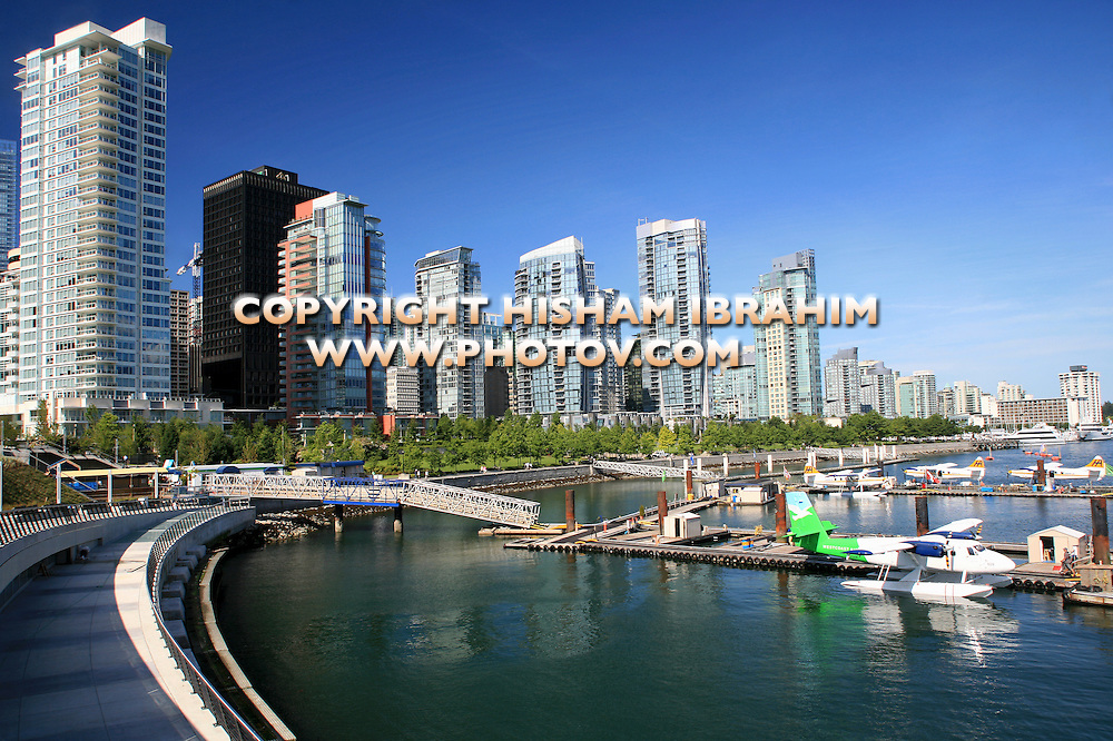 Vancouver Waterfront Skyline and Coal Harbour - Vancouver, BC, Canada