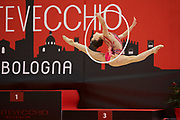 Francesca Pellegrini from Raffaello Motto team during the Italian Rhythmic Gymnastics Championship in Bologna, 9 February 2019.