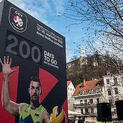 20190224: SLO, Volleyball - 200 days before CEV EuroVolley 2019 in Ljubljana