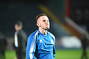 Rhys Norrington-Davies of Rochdale AFC before the EFL Sky Bet League 1 match between Rochdale and Lincoln City at the Crown Oil Arena, Rochdale, England on 17 September 2019.