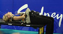 23-09-2000 AUS: Olympic Games Volleybal Nederland - Egypte, Sydney<br /> Nederland wint met 3-1 van Egypte / Fotograaf Media Agneta Kristina Elmegard