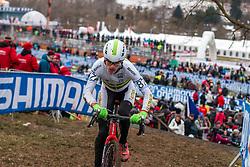 Tom Green (AUS), Men Juniors, Cyclo-cross World Championship Tabor, Czech Republic, 31 January 2015, Photo by Pim Nijland / PelotonPhotos.com