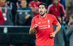 18.05.2016, St. Jakob Park, Basel, SUI, UEFA EL, FC Liverpool vs Sevilla FC, Finale, im Bild Emre Can (FC Liverpool) // Emre Can (FC Liverpool) during the Final Match of the UEFA Europaleague between FC Liverpool and Sevilla FC at the St. Jakob Park in Basel, Switzerland on 2016/05/18. EXPA Pictures © 2016, PhotoCredit: EXPA/ JFK