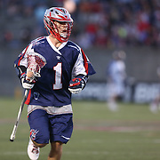 Will Manny #1 of the Boston Cannons is seen during the game at Harvard Stadium on May 17, 2014 in Boston, Massachuttes. (Photo by Elan Kawesch)